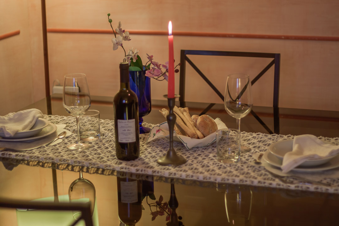The dining table where you can enjoy your lunch